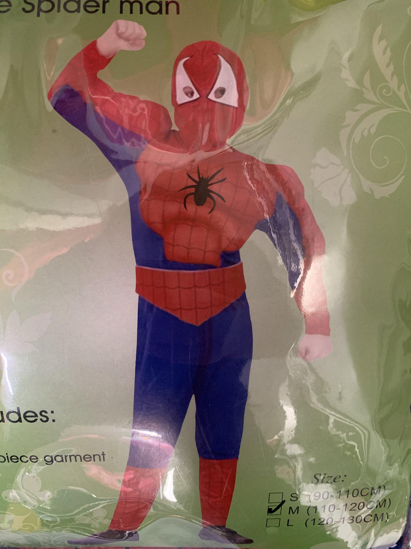 Muscle Spiderman - Med  Dancewear Australia
