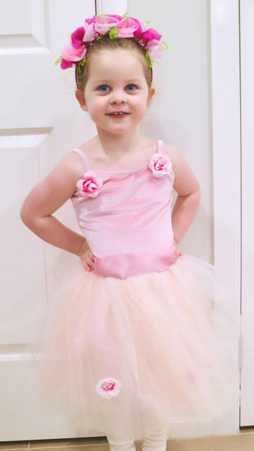 Wendy Flower Tutu  Dress  Dancewear Australia