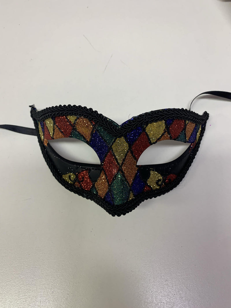Mask - Gold Blue Red Green