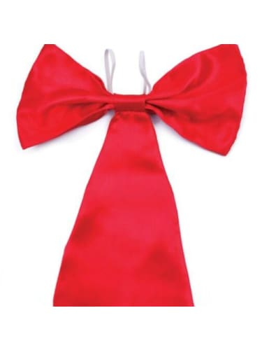 Jumbo Red Bow Tie JD Party  Dancewear Australia