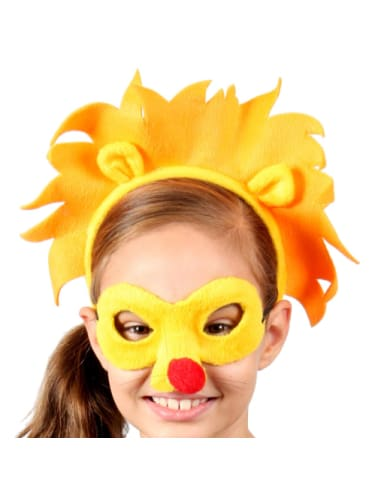 Lion Mask & Headband  Dancewear Australia