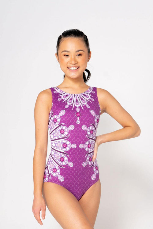 Crystal Palace Leotard - Sylvia P Gymnastics