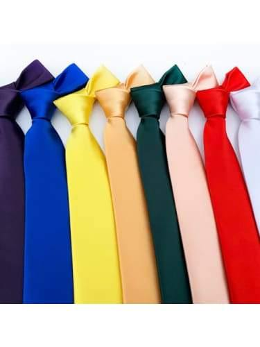 Long Slim Coloured Ties  Dancewear Australia