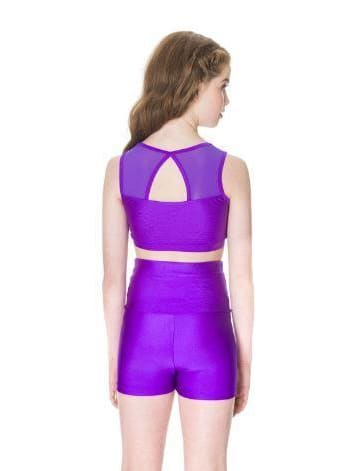 Mesh Crop Top  Dancewear Australia