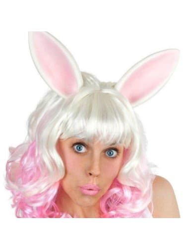 Miss Bunny - wig with ears Wigs & Beards
