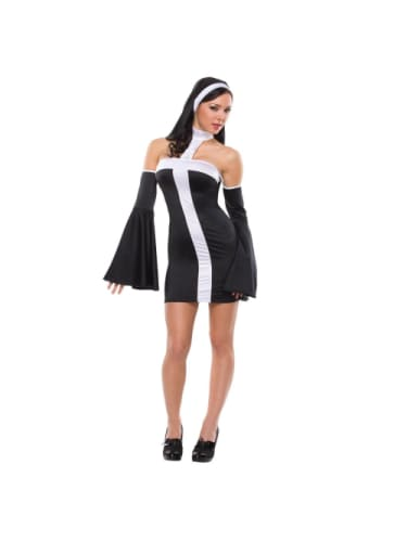 Naughty Nun Costume  Dancewear Australia