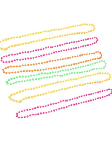Neon Bead Necklace  Dancewear Australia