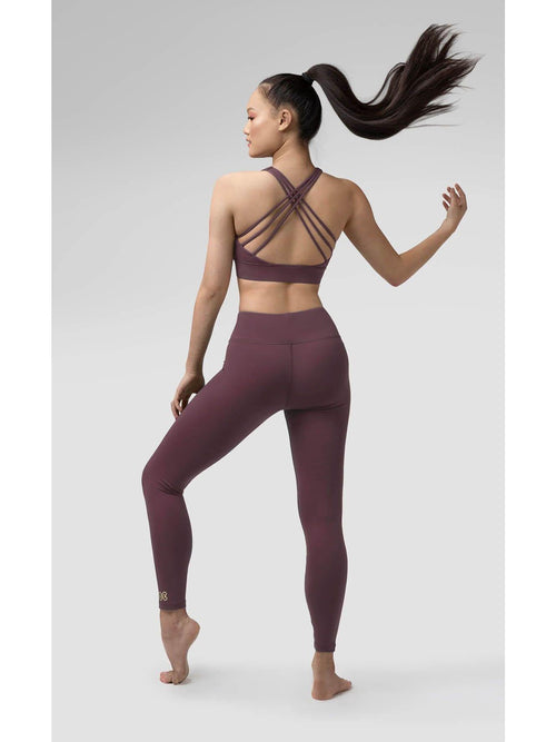 Pauline Leggings - Wood Violet  Dancewear Australia