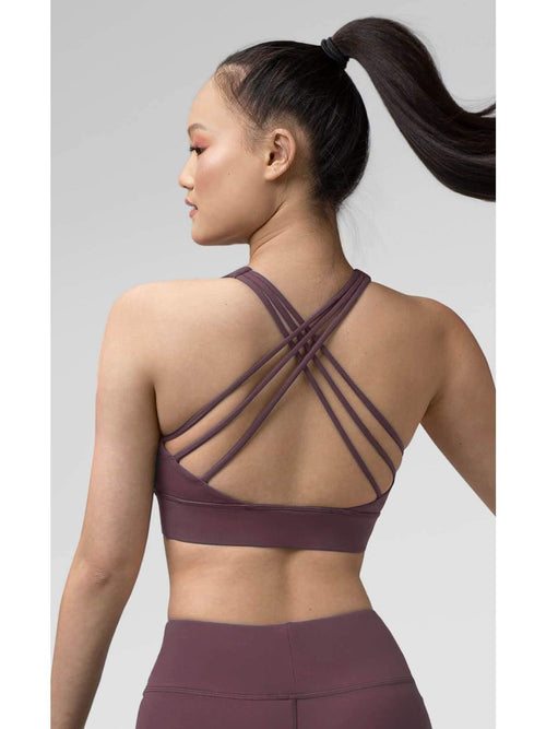 Pauline Top - Wood Violet  Dancewear Australia