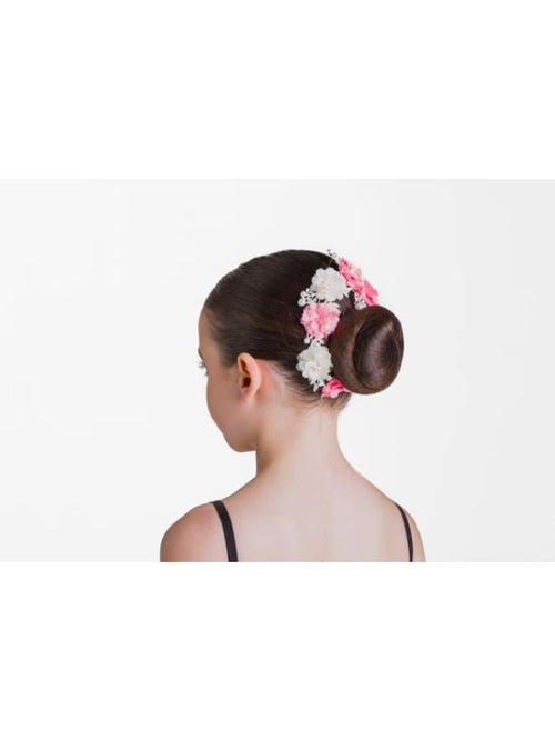 Pearls and Petals Hairpiece - Pink and White Studio7Dancewear  Dancewear Australia