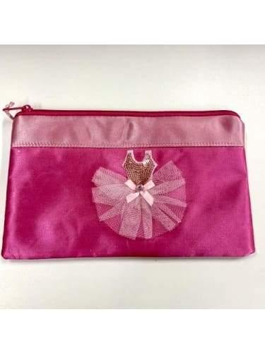 Pencil Case - Pink Ballerina Dress Sugar Pie  Dancewear Australia