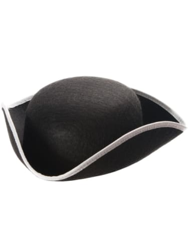 Pirate Hat - Tri Silver Trim  Dancewear Australia