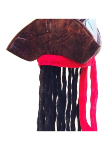 Pirate Wig with Hat  Dancewear Australia