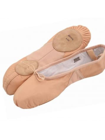 PROLITE II LEATHER GIRLS BALLET FLAT (Split Sole)  Dancewear Australia