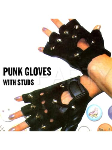 Punk Gloves with Studs  Dancewear Australia