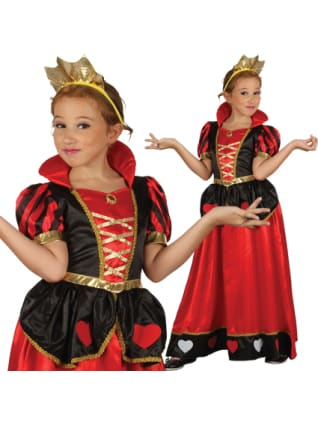 Queen of Hearts Child M/L Costume Sale