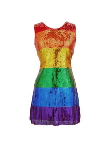 Rainbow Sequin Dress  Dancewear Australia