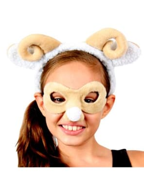 Ram/Sheep Mask & Headband  Dancewear Australia