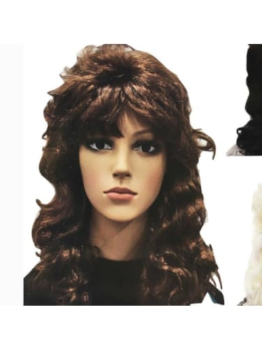 Retro Wig - brown  Dancewear Australia