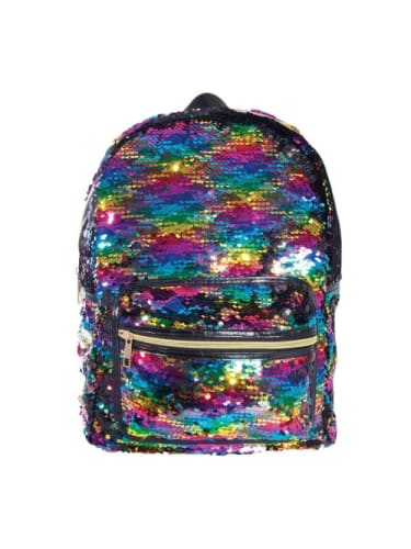 Reversible Sequin Backpack - Rainbow  Dancewear Australia