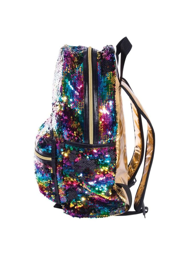 Reversible Sequin Backpack - Rainbow Independant Studios  Dancewear Australia