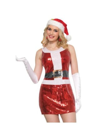 Santa Sequin Dress  Dancewear Australia