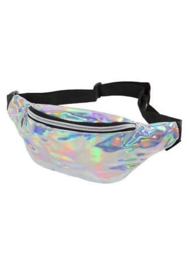 Silver Irredecent Bum Bag  Dancewear Australia