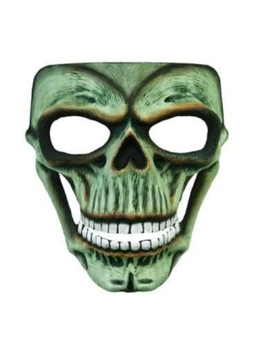 Skeleton Mask - Green Unearthed  Dancewear Australia