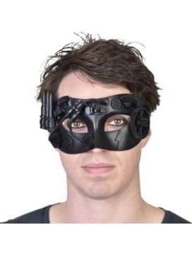 Steampunk Eye Mask - Sterling  Dancewear Australia