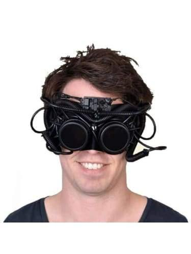 Steampunk Large Eye Mask - Hartley  Dancewear Australia