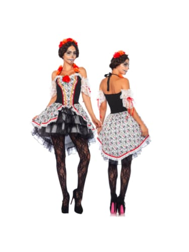Sugar Skull Senorita Costume Sale