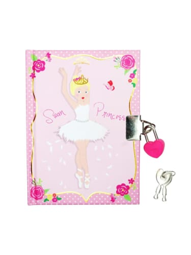 Swan Princess Lockable Notebook  Dancewear Australia