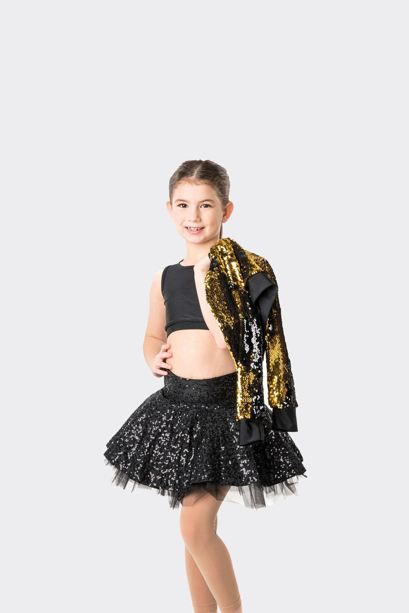 Stage Lights Cropped Sequin Jacket