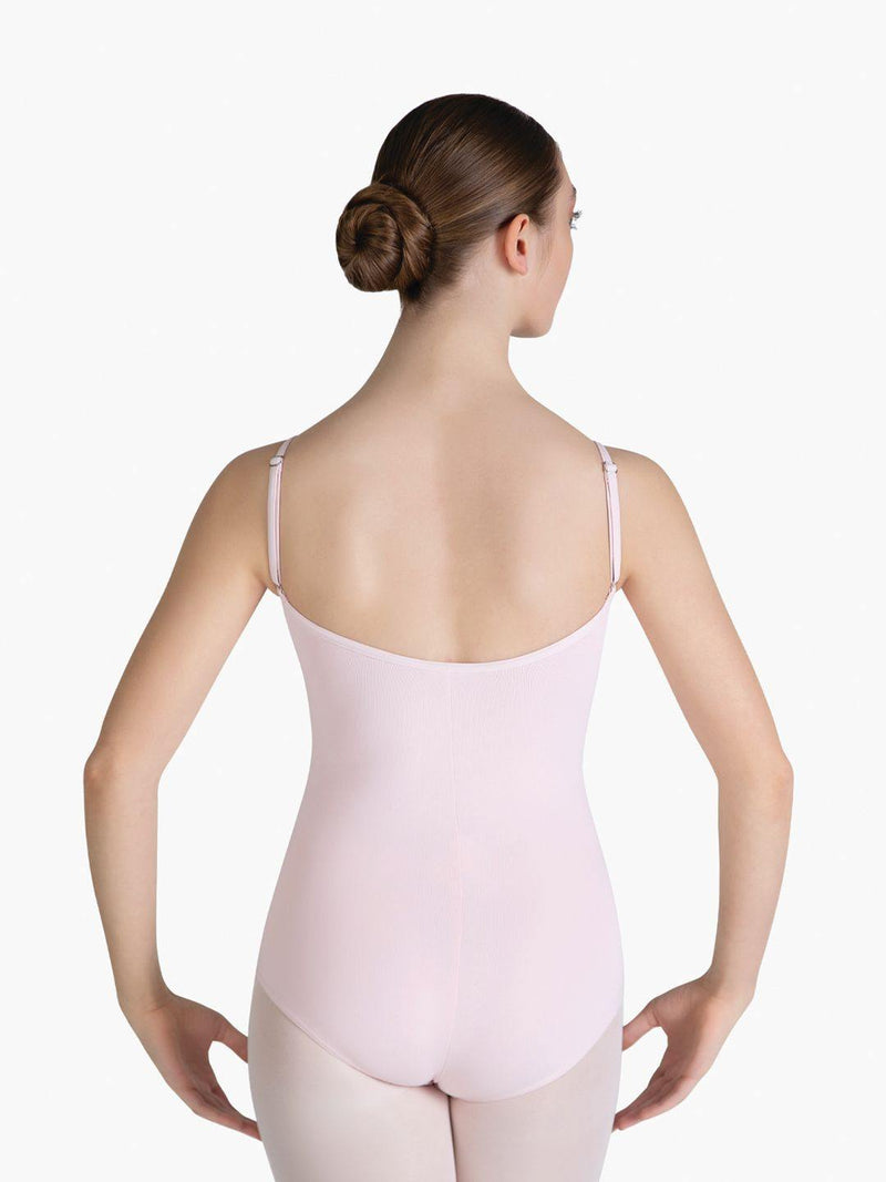 Tactel Pinch Front Camisole Leotard - Girls TC0052C  Dancewear Australia