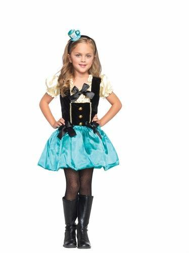 mad hatter girls costume. tea party princess, alice in wonderland