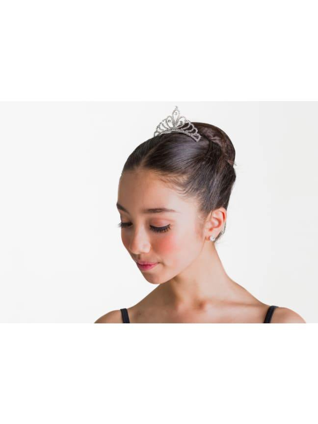 The Anastasia Tiara - Crystal White  Dancewear Australia