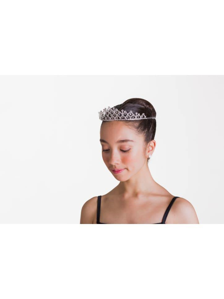 The Victoria Tiara - Crystal White  Dancewear Australia