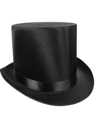 Top Hat - Satin High  Dancewear Australia