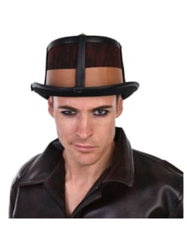 Top Hat - Steampunk Brown  Dancewear Australia