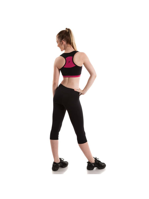 V Front Crop Top  Dancewear Australia