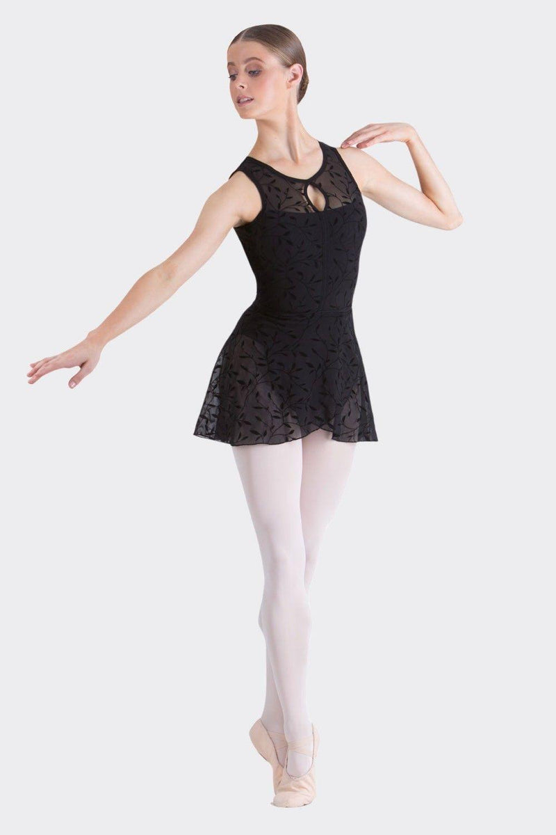 Alexa Wrap Skirt | Black  Dancewear Australia
