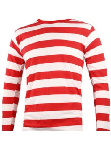 Wheres wally? Striped Top Child Costume Sale