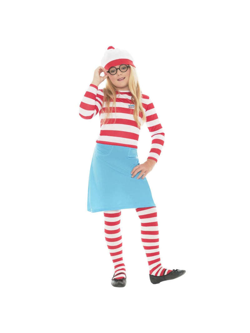 Wheres Wenda Child Costume (Wheres Wally)  Dancewear Australia
