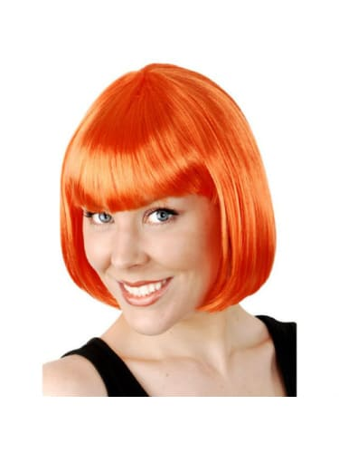 Wig - Paige Orange  Dancewear Australia