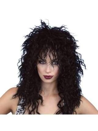 Wig - Rock Chick Black  Dancewear Australia