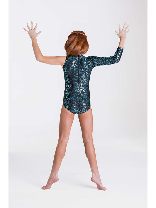 Wild Things Leotard - Emerald Green  Dancewear Australia