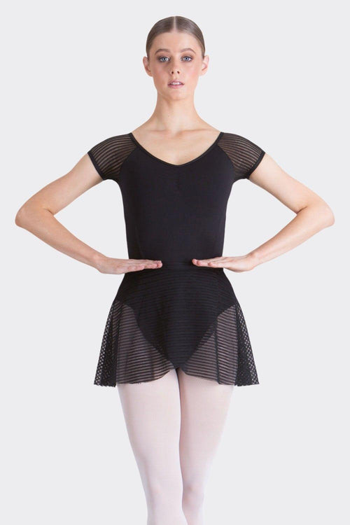 Bella Wrap Skirt | Black  Dancewear Australia