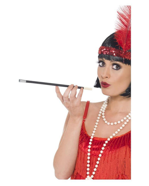 cigarette holder 1920 costume, fancy dress gangster, flapper girl costume party, australia novelties