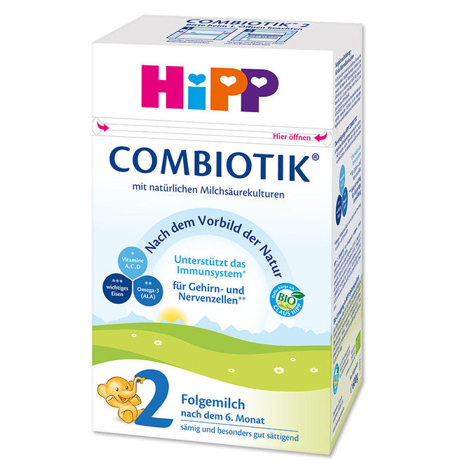 HiPP Stage 2 Organic (Bio) Combiotic Infant Milk Formula (600g) - German Version