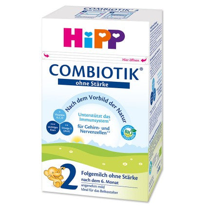 HiPP Stage 2 No Starch Organic Combiotic Follow-On Formula (600g) - Germany